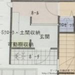 玄関解説~勝手に考えた修正案&収納計画α版編~