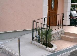 玄関スロープ