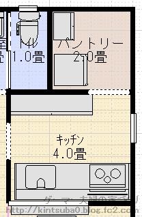 キッチン背面配置3